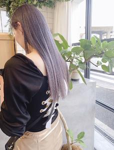 ホワイトラベンダー|MASHU GRAND VASEのヘアスタイル