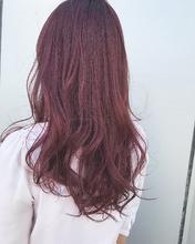 ピンクカラー|MASHU GRAND VASEのヘアスタイル