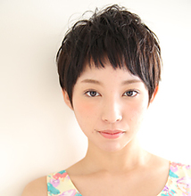 ベリーショート|MASHU ADOBEのヘアスタイル