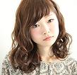 ソフトウェーブミディ|MASHU ADOBEのヘアスタイル