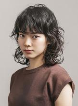 外ハネも大人かわいい♪プチウルフボブ|MASHU ADOBEのヘアスタイル