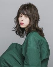 大人かわいいルーズミディアム|MASHU ADOBEのヘアスタイル