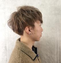 ダブルカラー|MASHU ADOBE 猪熊 秀美のメンズヘアスタイル