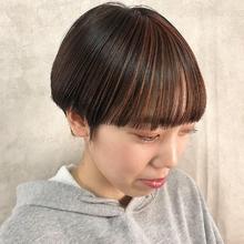デザインカラー|MASHU ADOBEのヘアスタイル