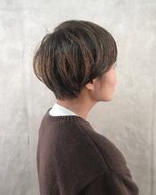 まろやかベージュにマッシュショート|MASHU ADOBEのヘアスタイル