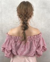 全方位かわいい編みおろしアレンジ|MASHU ADOBEのヘアスタイル