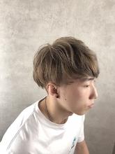 ハイトーンカラー|MASHU ADOBE 猪熊 秀美のメンズヘアスタイル