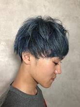 メンズダブルカラー|MASHU ADOBE 猪熊 秀美のメンズヘアスタイル