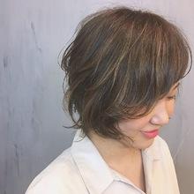 カジュアルショートヘア|MASHU ADOBEのヘアスタイル