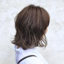 リラクシーボブ|MASHU ADOBEのヘアスタイル