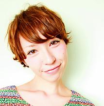 外人風ショート|MASHU NU茶屋町店のヘアスタイル