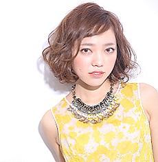 Fresh & feminine Bob|MASHU NU茶屋町店のヘアスタイル