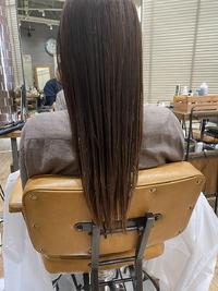 髪質改善トリーメントフロー