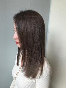 トリートメント結合&色味補充でツヤ髪に!|MASHU NU茶屋町店のヘアスタイル