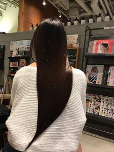初体験!oooitで髪質改善!|MASHU NU茶屋町店のヘアスタイル