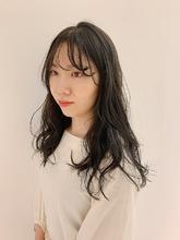 オリーブベージュ|MASHU NU茶屋町店のヘアスタイル