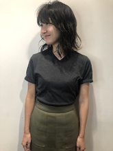 色持ちグットなダークグレージュ|MASHU NU茶屋町店のヘアスタイル