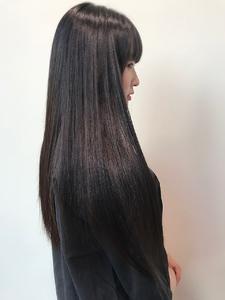 ツヤとおさまりが手にはいる髪質改善トリートメントoooit|MASHU NU茶屋町店のヘアスタイル