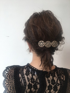 ふんわり結婚式セット MASHU NU茶屋町店のヘアスタイル