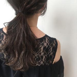 透明感アッシュカラー MASHU NU茶屋町店のヘアスタイル