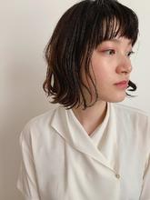 ナチュラルボブ|MASHU NU茶屋町店のヘアスタイル