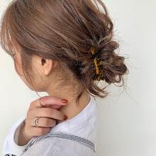 ウォームベージュ|MASHU NU茶屋町店のヘアスタイル