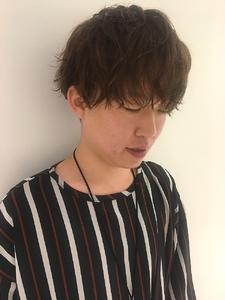 アンニュイパーマ|MASHU NU茶屋町店のヘアスタイル