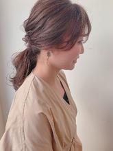 シアベージュ|MASHU NU茶屋町店のヘアスタイル