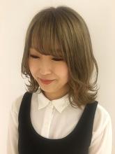 透明感レイヤースタイル|MASHU NU茶屋町店 永井 ひかるのヘアスタイル