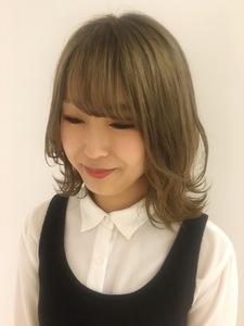 透明感レイヤースタイル MASHU NU茶屋町店のヘアスタイル