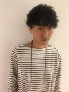 アッシュブラウン|MASHU NU茶屋町店のヘアスタイル