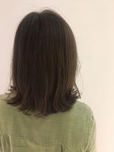 切りっぱなしボブ|MASHU NU茶屋町店 永井 ひかるのヘアスタイル