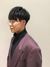 ナチュラルモードマッシュ|MASHU NU茶屋町店のヘアスタイル