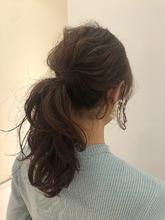 柔らかピンクベージュ|MASHU NU茶屋町店のヘアスタイル