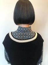ボブ|MASHU NU茶屋町店のヘアスタイル