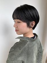 マッシュショート|MASHU NU茶屋町店のヘアスタイル