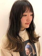 クリーミーグラデーションカラー|MASHU NU茶屋町店のヘアスタイル