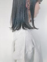 切りっぱなしでこなれ大人可愛いボブ|MASHU NU茶屋町店のヘアスタイル