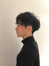 ツイストスパイラルパーマ|MASHU NU茶屋町店のヘアスタイル