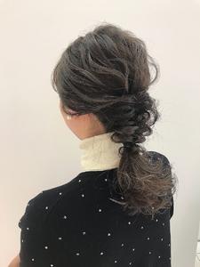 フォギーベージュ|MASHU NU茶屋町店のヘアスタイル