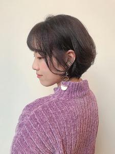 ショートボブ◎|MASHU NU茶屋町店のヘアスタイル