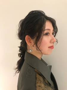 ゆるアレンジ☆|MASHU NU茶屋町店のヘアスタイル