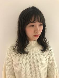 オリーブアッシュ|MASHU NU茶屋町店のヘアスタイル