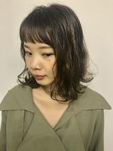 華奢ハイライトボブ☆ MASHU NU茶屋町店 川口 千夏のヘアスタイル