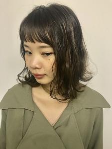 華奢ハイライトボブ☆|MASHU NU茶屋町店のヘアスタイル