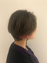 アンニュイショートボブ フォギーベージュ MASHU NU茶屋町店 川口 千夏のヘアスタイル