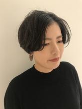 ハンサムショート MASHU NU茶屋町店 川口 千夏のヘアスタイル