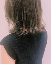 ブリーチなし!透明感グレージュ|MASHU NU茶屋町店 柳原 明信のヘアスタイル