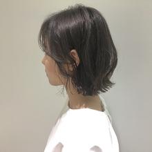 伸ばしかけショート|MASHU NU茶屋町店のヘアスタイル