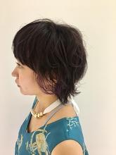 マッシュ ウルフ デザインカラー|MASHU NU茶屋町店のヘアスタイル